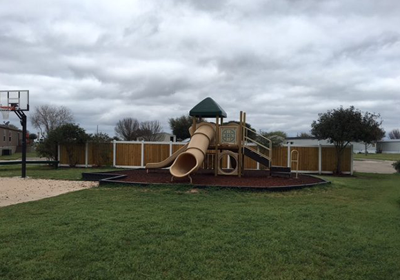 Playground Area in our Mobile Home Community in Sealy, TX