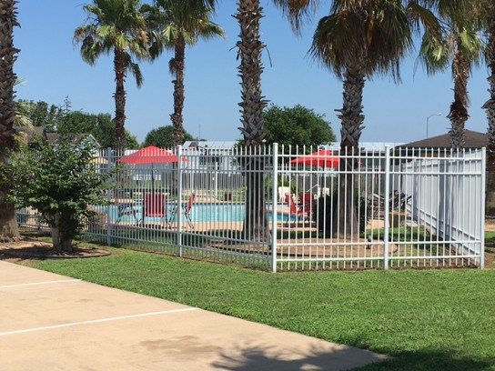 Swimming Pool in our Mobile Home Community in Sealy, TX