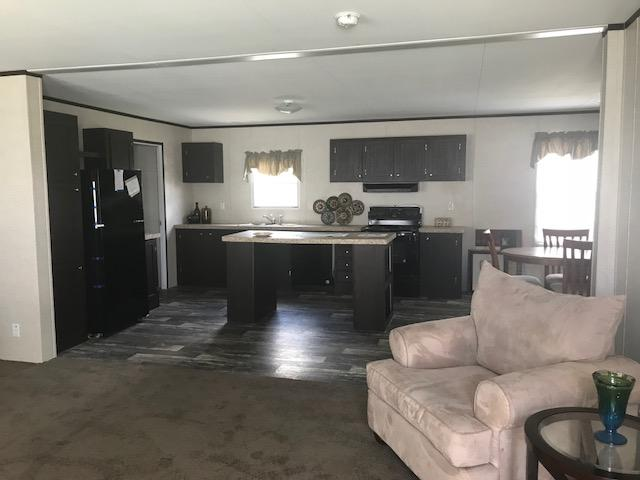 Model 532 Kitchen and Living Area