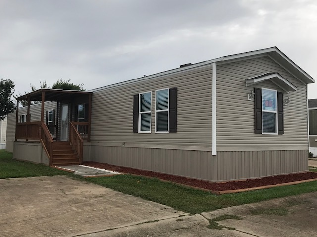 Model 859 – Front – Custom Mobile Homes in Sealy, TX
