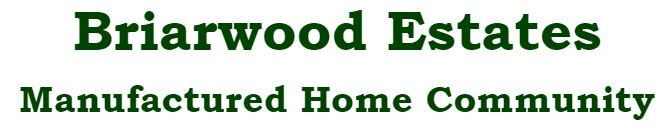 Briarwood Estates Manufactured Home Community, Logo